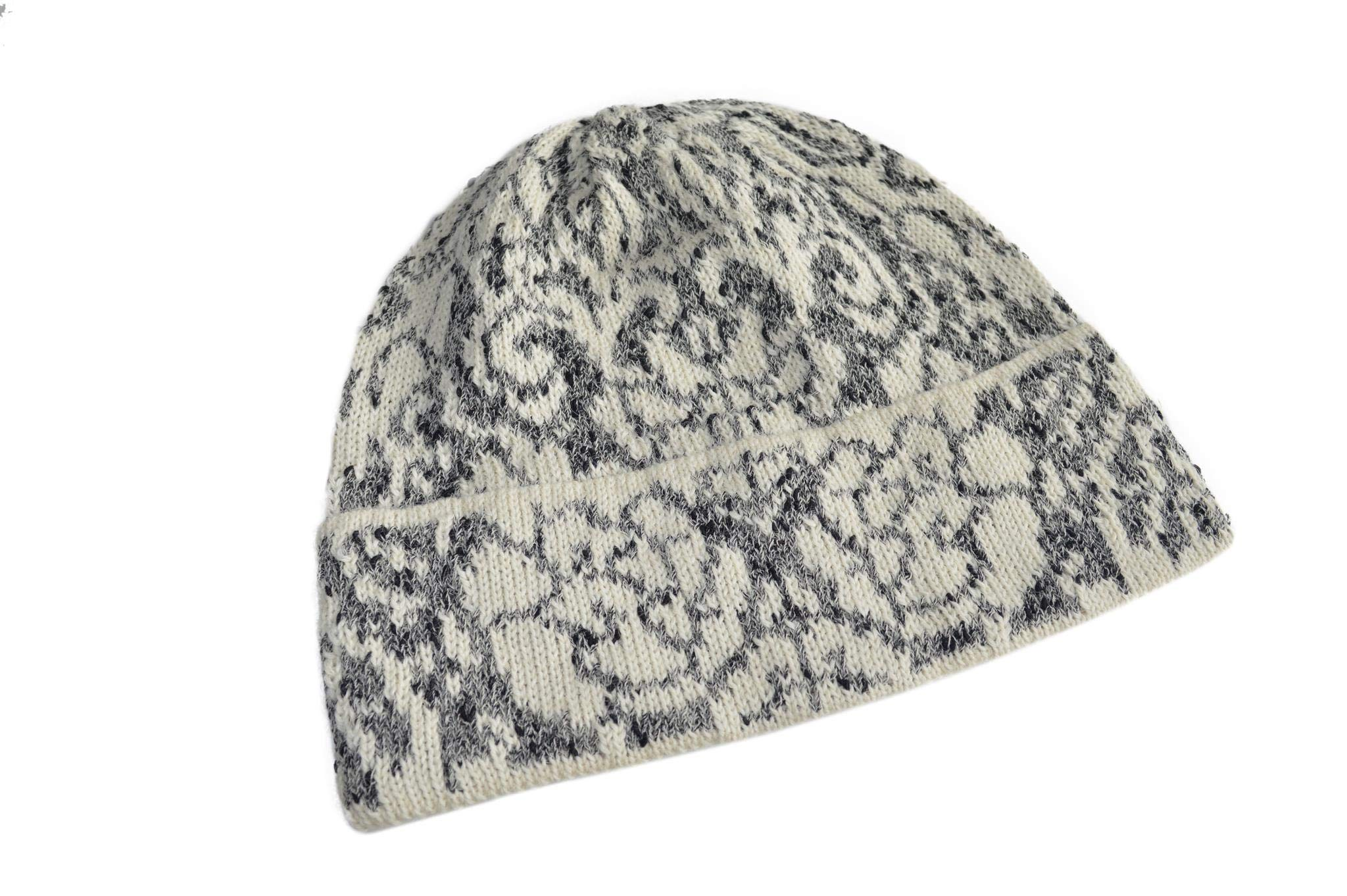 Invisible World Women's 100% Alpaca Wool Hat Knit Unisex Beanie Winter Oxa Md by Invisible World (Image #3)