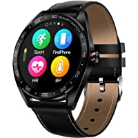 RGTOPONE Waterproof Smart Watch Men IP68 Sports Smartwatch Swimming Bluetooth Enhanced Fitness Tracker Heart Rate Blood Pressure Monitor Messages Reminder Accuracy Gift Compatible for iOS Android