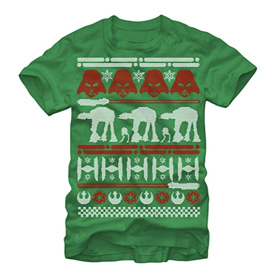 star wars ugly christmas sweater mens graphic t shirt