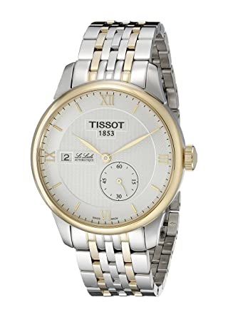 447e8cfce Amazon.com: Tissot Men's T0064282203800 Le Locle Analog Display ...