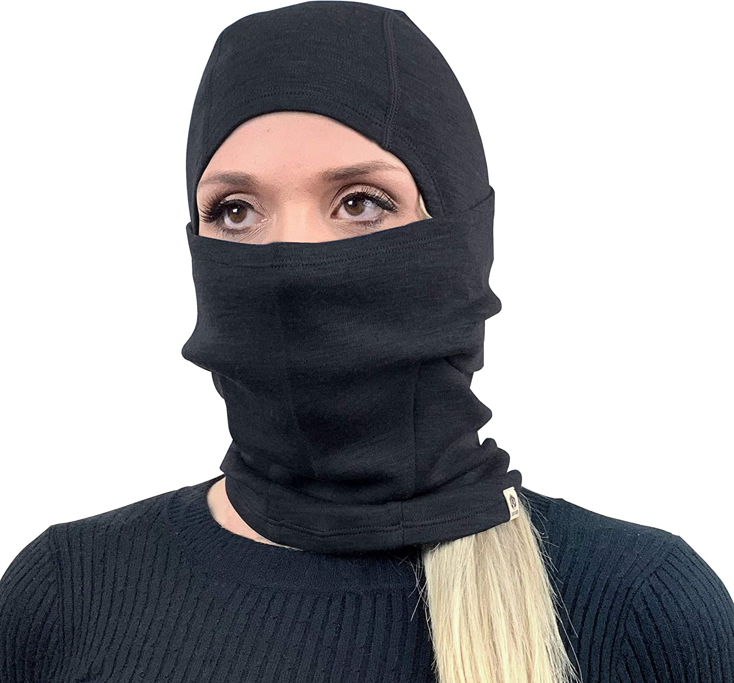 Bush Edge 100% Merino Wool Balaclava