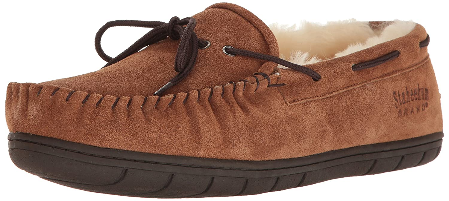 f7e49a693c5aa Amazon.com | Staheekum Men's Plush Shearling Lined Slipper | Slippers