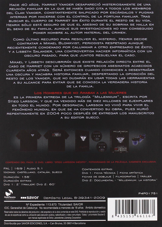 Millennium 1: Los Hombres que no Amaban a las Mujeres Edición c DVD: Amazon.es: Michael Nyqvist, Noomi Rapace, Sven-Bertil Taube, Peter Haber, Lena Endre, ...