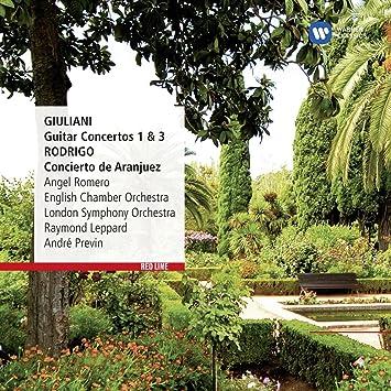 Giuliani: Guitar Concertos Nos. 1 y 3, Rodrigo: Concierto de ...