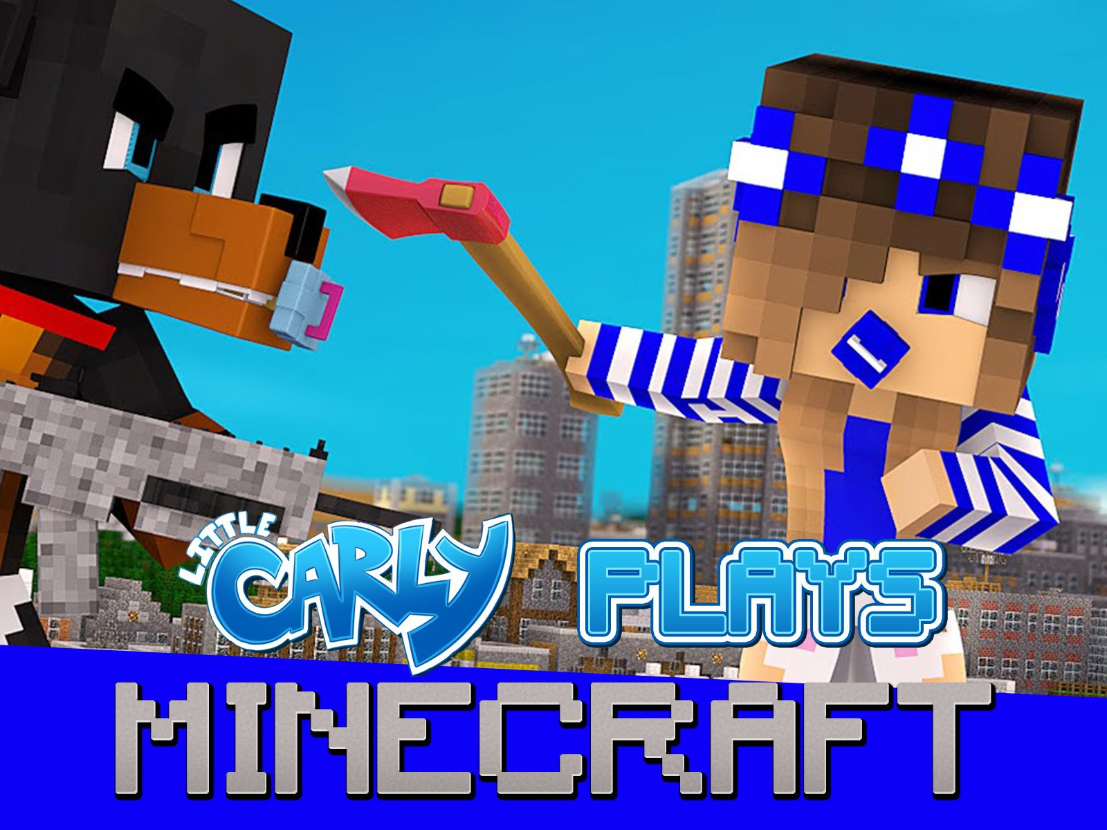 Little Carly Plays Minecraft on Amazon Prime Video UK