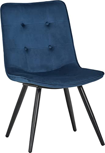 Amazon Brand Rivet Modern Tufted-Back Dining Chair