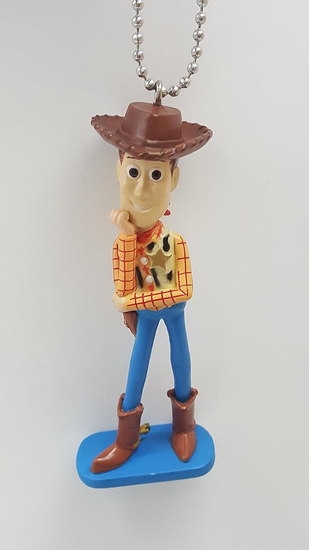 "Disney Toy Story 4 Alien Plastic Key Chains Bag Accessory Woody Lots Bear New 3/"""