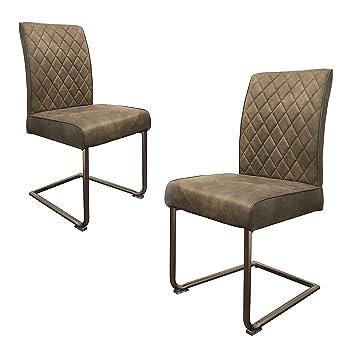stühle mit metallgestell