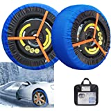 AGOOL Snow Sock Traction Longer Life Car Tire Traction Cover Socks Tire Chain Alternative Anti Slip