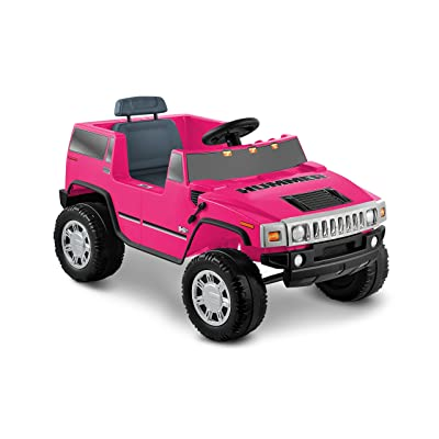 National Products 6V Pink Hummer H2 Battery Operated Ride-on: Toys & Games