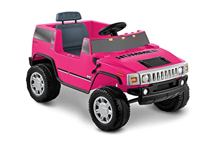 amazon com national products 6v pink hummer h2 battery operated
