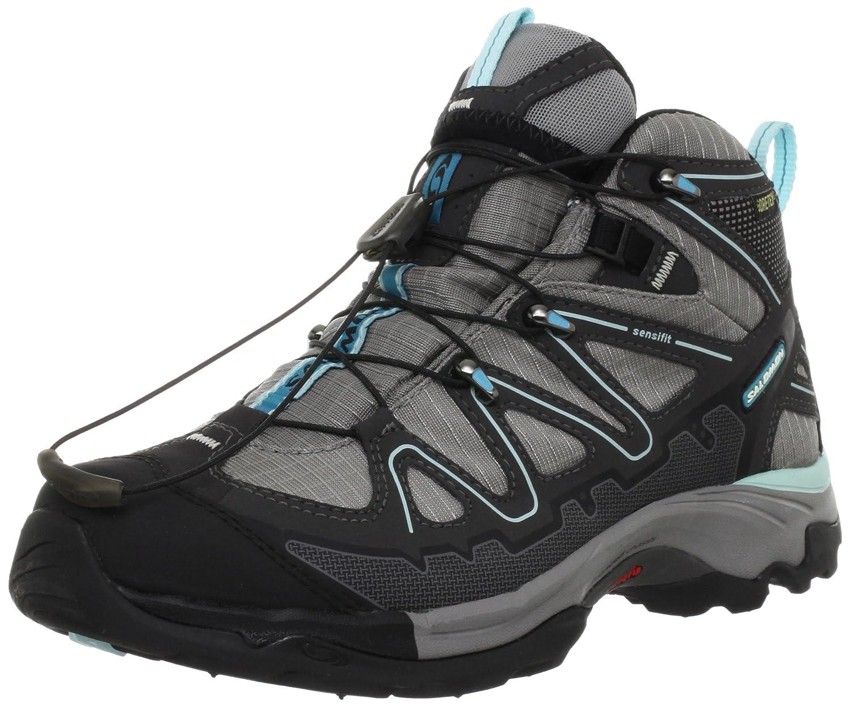 X Gtx Ladies Hiking ShoesBlacksilverblueUs6 Tiana Mid Salomon vOm0w8Nn