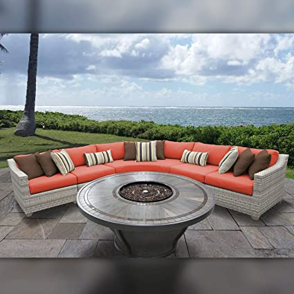 Fairmont Patio Furniture.Amazon Com Tk Classics Fairmont 06n Tangerine Fairmont Seating