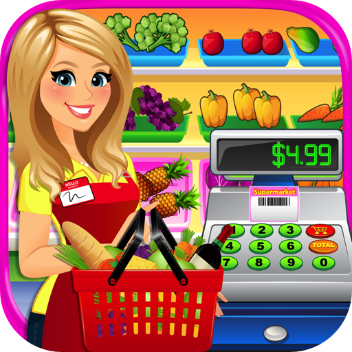 Supermarket Grocery Store Girl 2 - Kids Cash Register & Grocery Store Simulator Games FREE