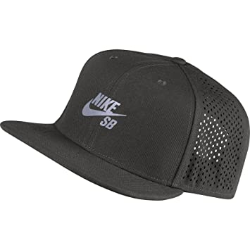 Nike Gorra SB Performance Pro Gris Deep Pewter Black Reflective Silv  Talla Talla 61017d47113