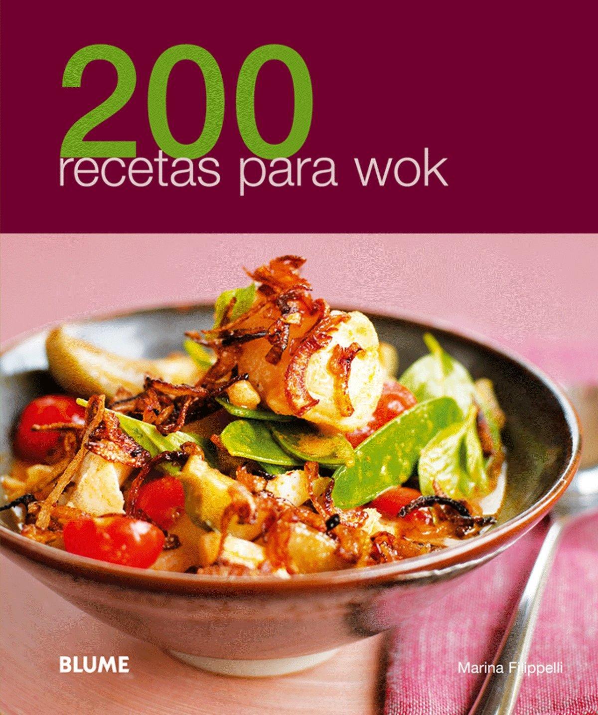 200 recetas para wok (Spanish Edition): Marina Filippelli: 9788480769082:  Amazon.com: Books