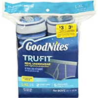Goodnites Trufit Real Underwear for Boys, Starter Pack
