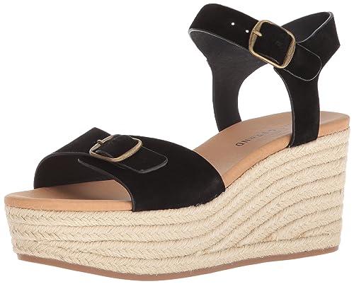 7954ead3b68 Lucky Brand Women's Naveah Espadrille Wedge Sandal