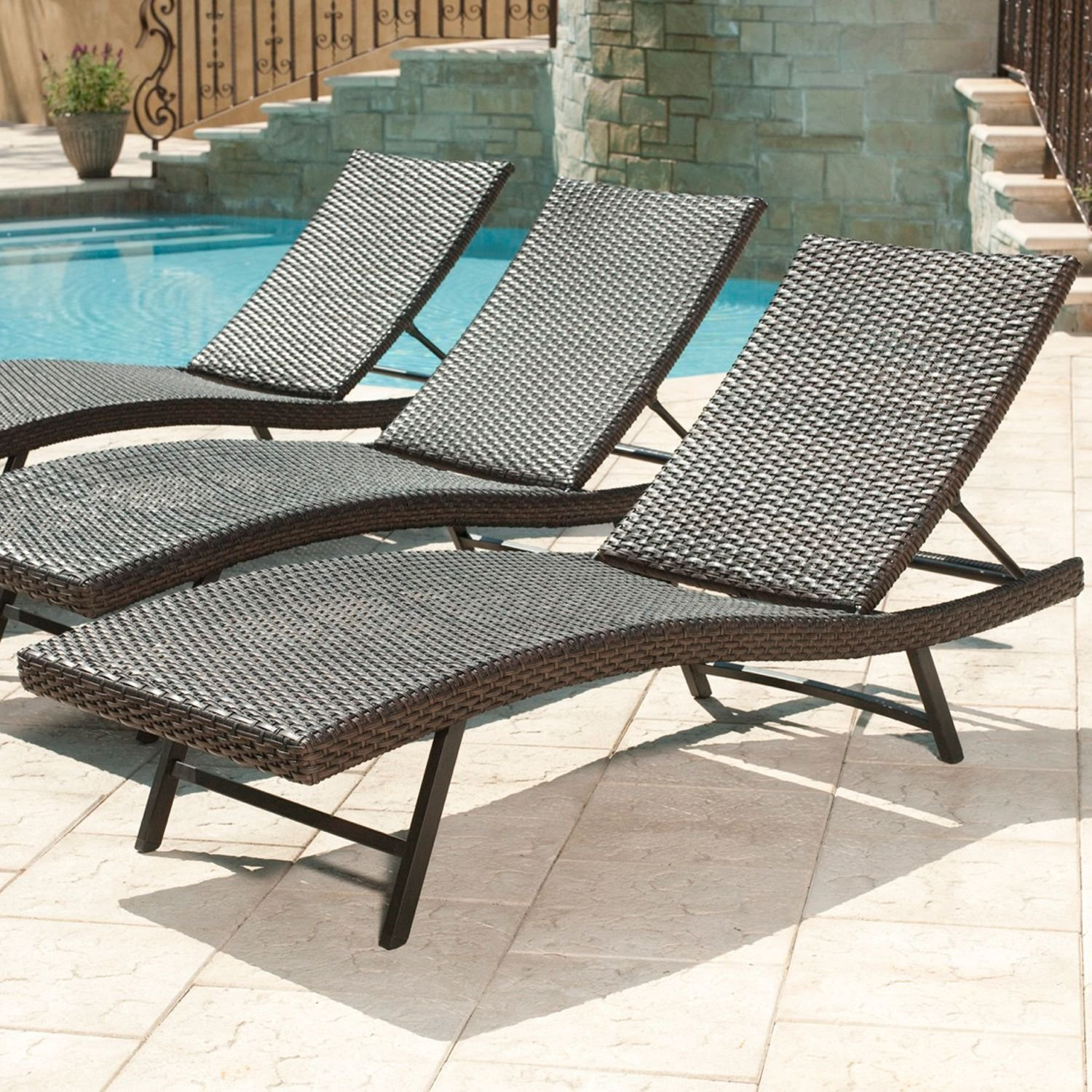 Amazon Member s Mark Heritage Chaise Lounge Chair Garden