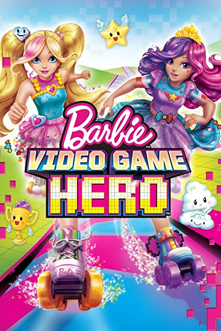 Amazon com: Barbie Video Game Hero Movie Poster 18 x 28 Inches