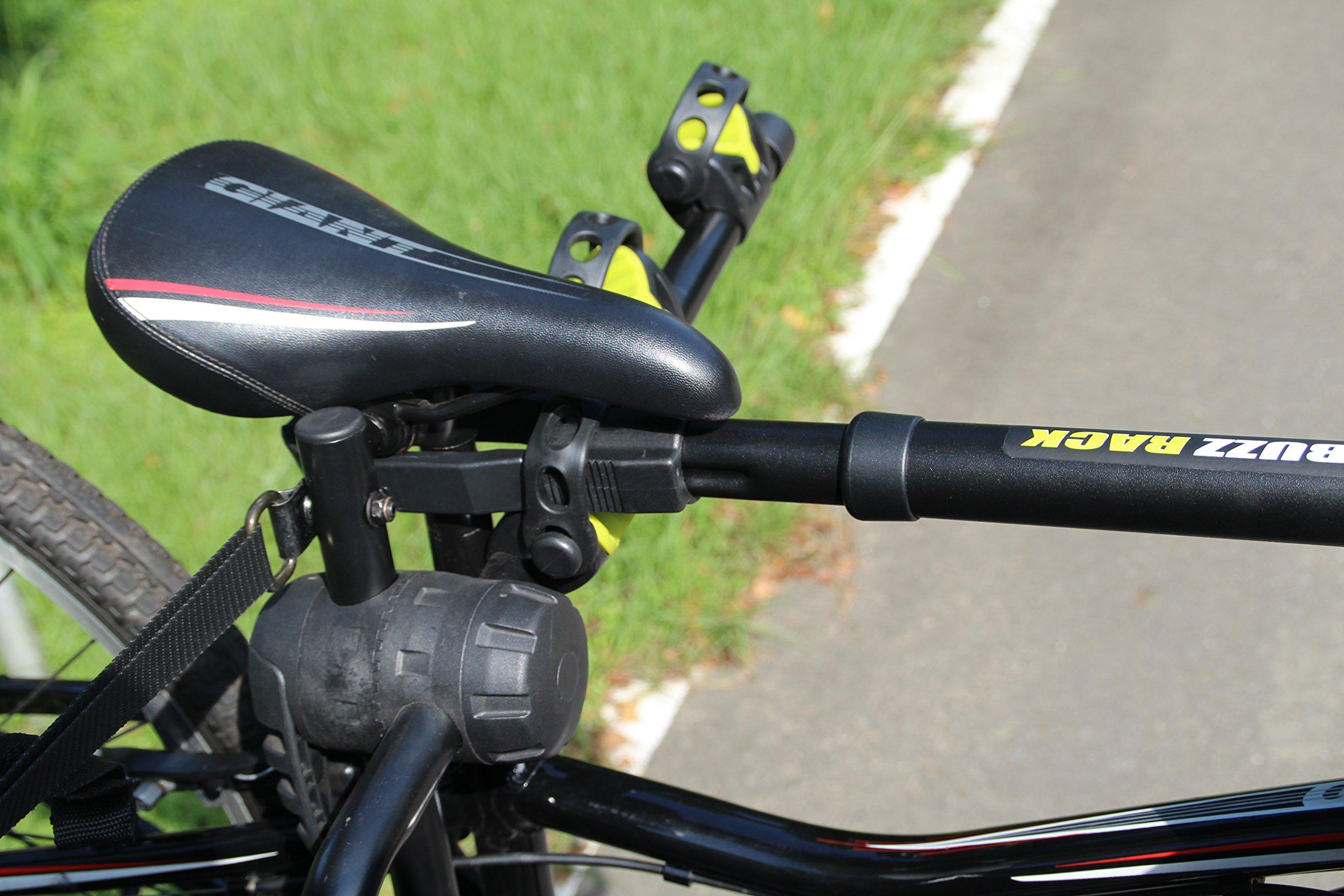 BUZZ RACK GRIP Deluxe Black Bike Top Frame Cross Bar Telescopic Adaptor by BUZZ RACK (Image #7)