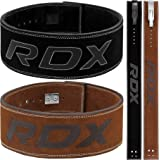 RDX Powerlifting Belt for Weight Lifting - Approved by IPL and USPA - Lever Buckle Gym Training Leather Belt 10mm Thick…