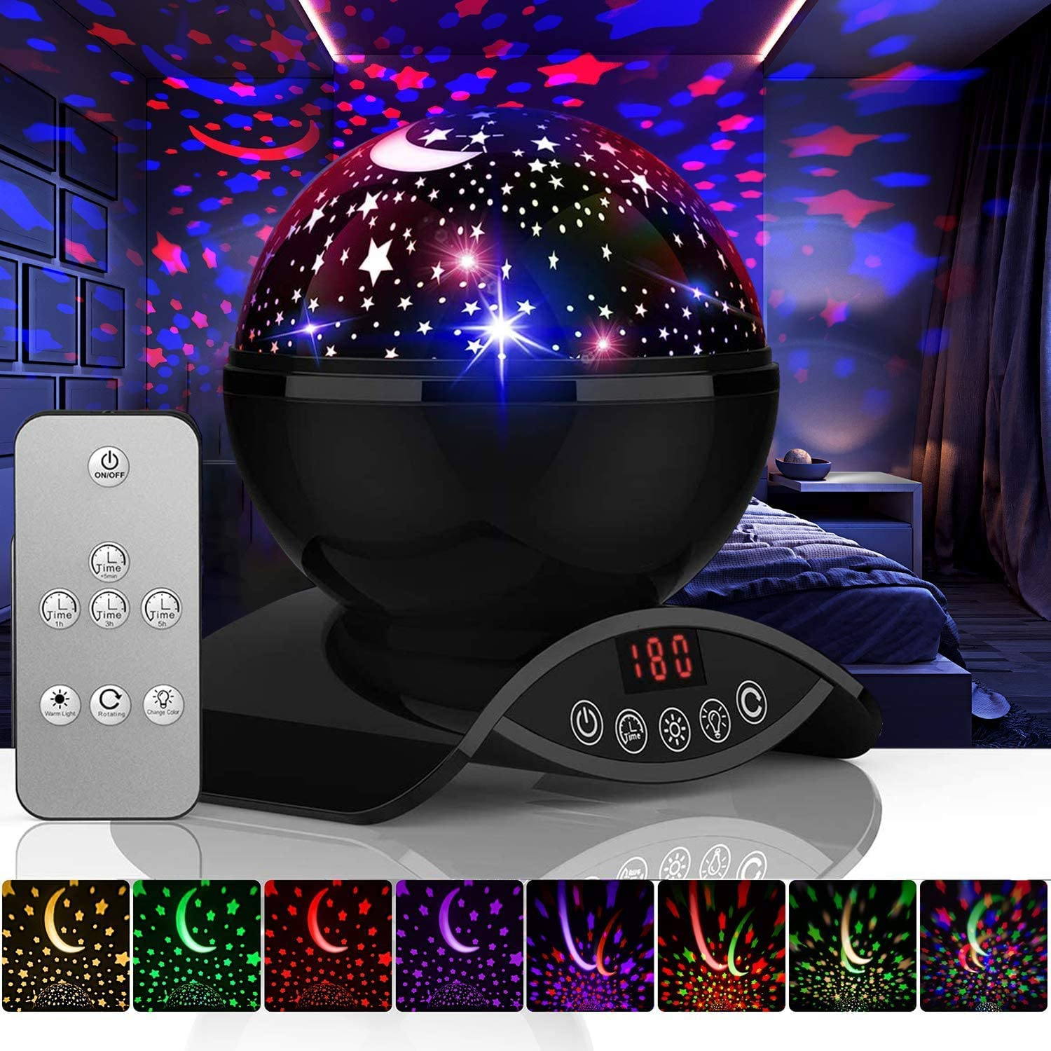 Best Night Light Projector Reviews For kids (2021) 7