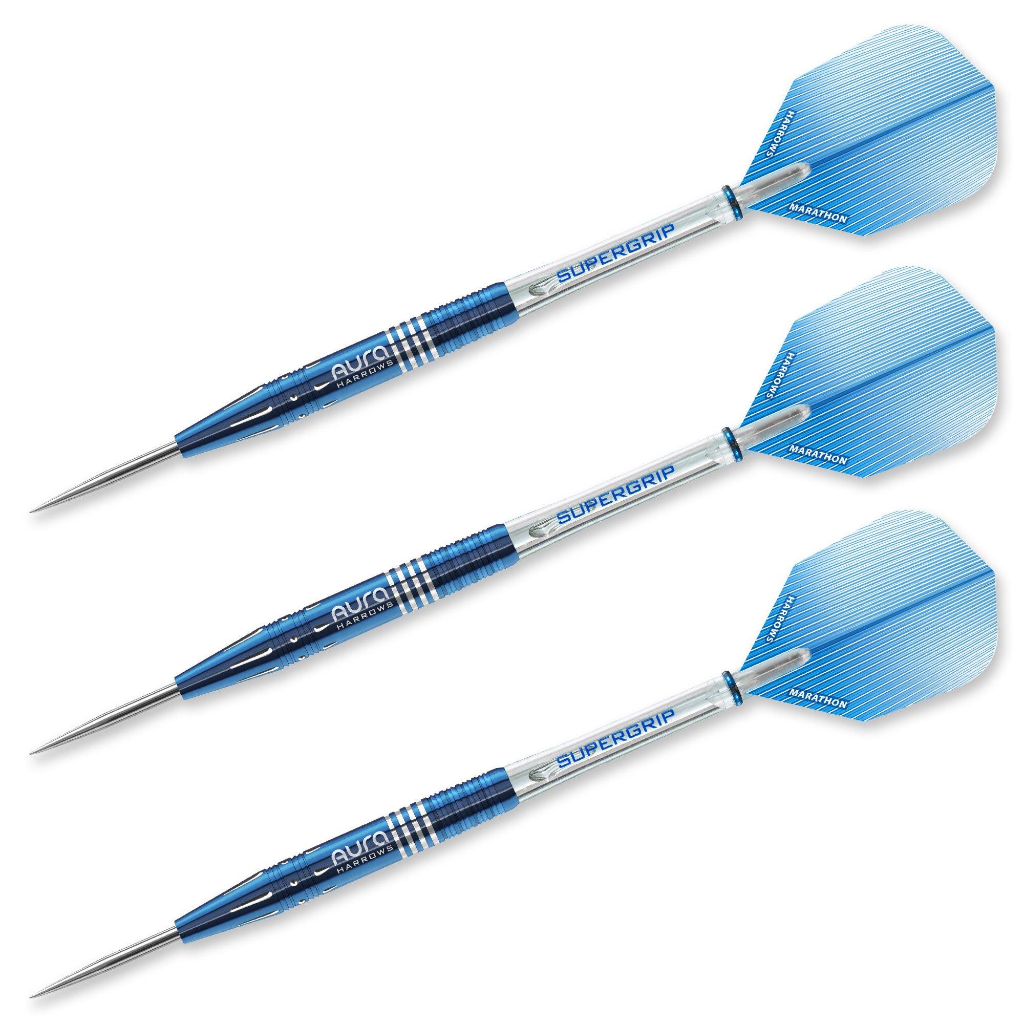 Harrows 52633 Aura Steel Tip Darts, 25gm