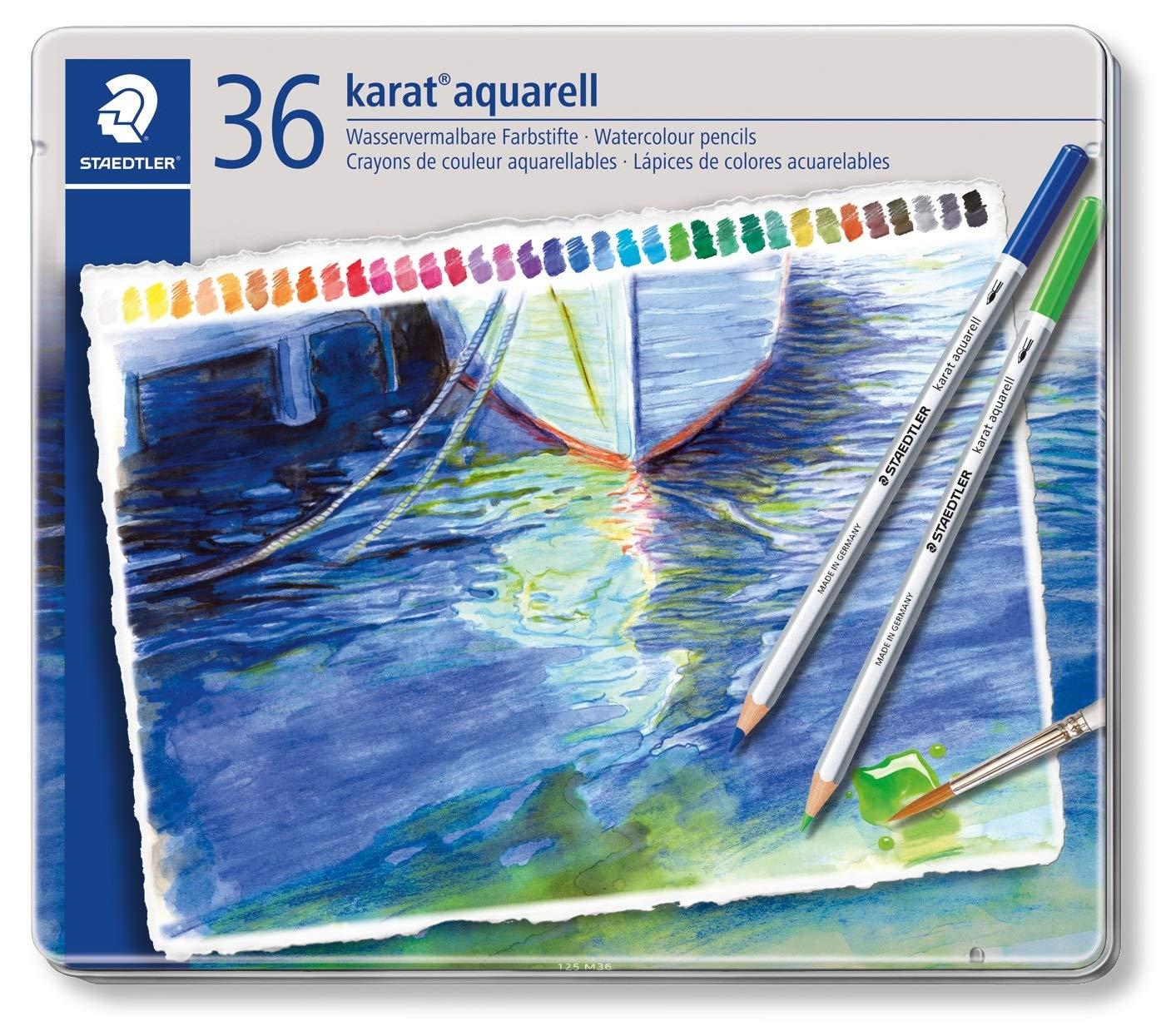 Set 125 M36 36 Colors Staedtler Dilshan Watercolor Pencil by STAEDTLER