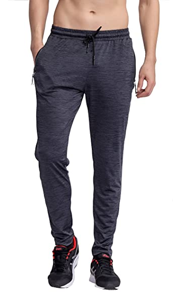 bf5ccb8e4459 TGLong Men Joggers Sweatpants Gym Sport Quick Dry Athletic Pants with Zipper  Pocket at Amazon Men's Clothing store: