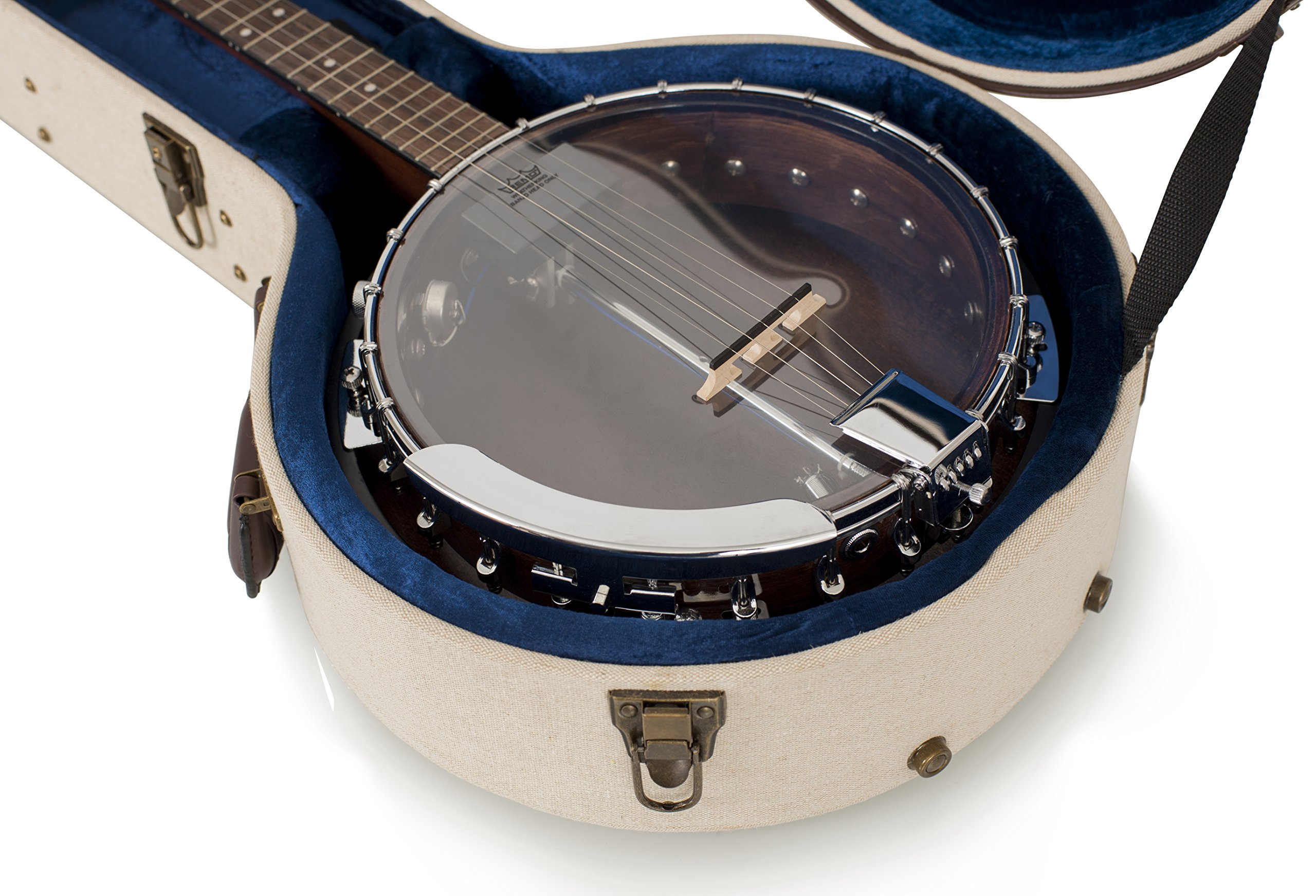 Gator Cases Journeyman Series Deluxe Wood Case for Banjos (GW-JM BANJO XL) by Gator (Image #5)