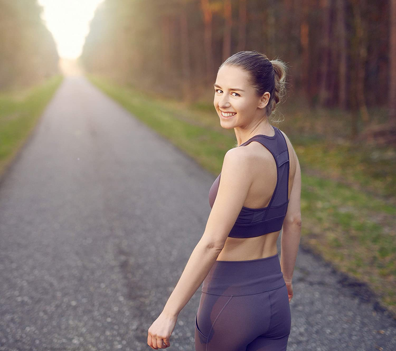 BAKING BREAD Atmungsaktiver Seamless Sport BH mit herausnehmbaren Cups