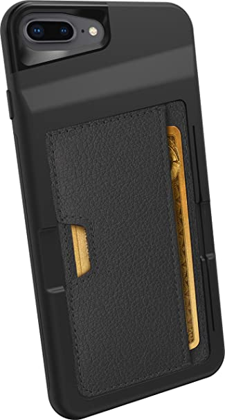 official photos 878cb 75bb7 Smartish iPhone 7 Plus/8 Plus Wallet Case - Wallet Slayer Vol. 2 [Slim  Protective Kickstand] Credit Card Holder for Apple iPhone 8 Plus/7 Plus  (Silk) ...