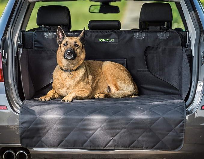 Bomiclas Universal Kofferraumschutz Hunde Auto Kofferraumdecke Ideal Für Deinen Hund Kofferraumschutzmatte Mit Seitenschutz Für Kofferraum Kofferraumschutzdecke Hund Wasserdicht Haustier