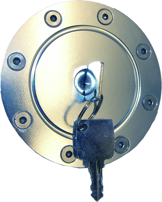Auto de 24/9319/Dep/ósito de aluminio de tapa con anillo