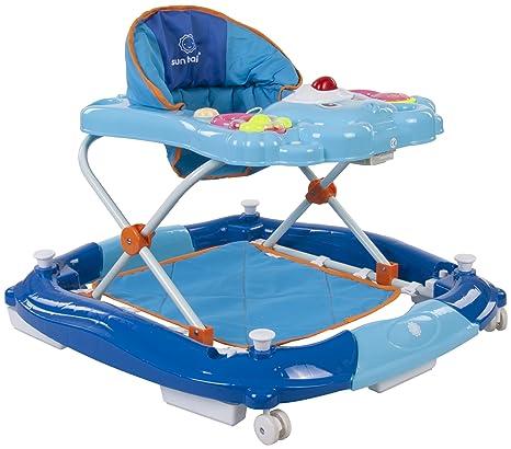Sun Baby Bear - Andador para bebé, color azul: Amazon.es: Bebé