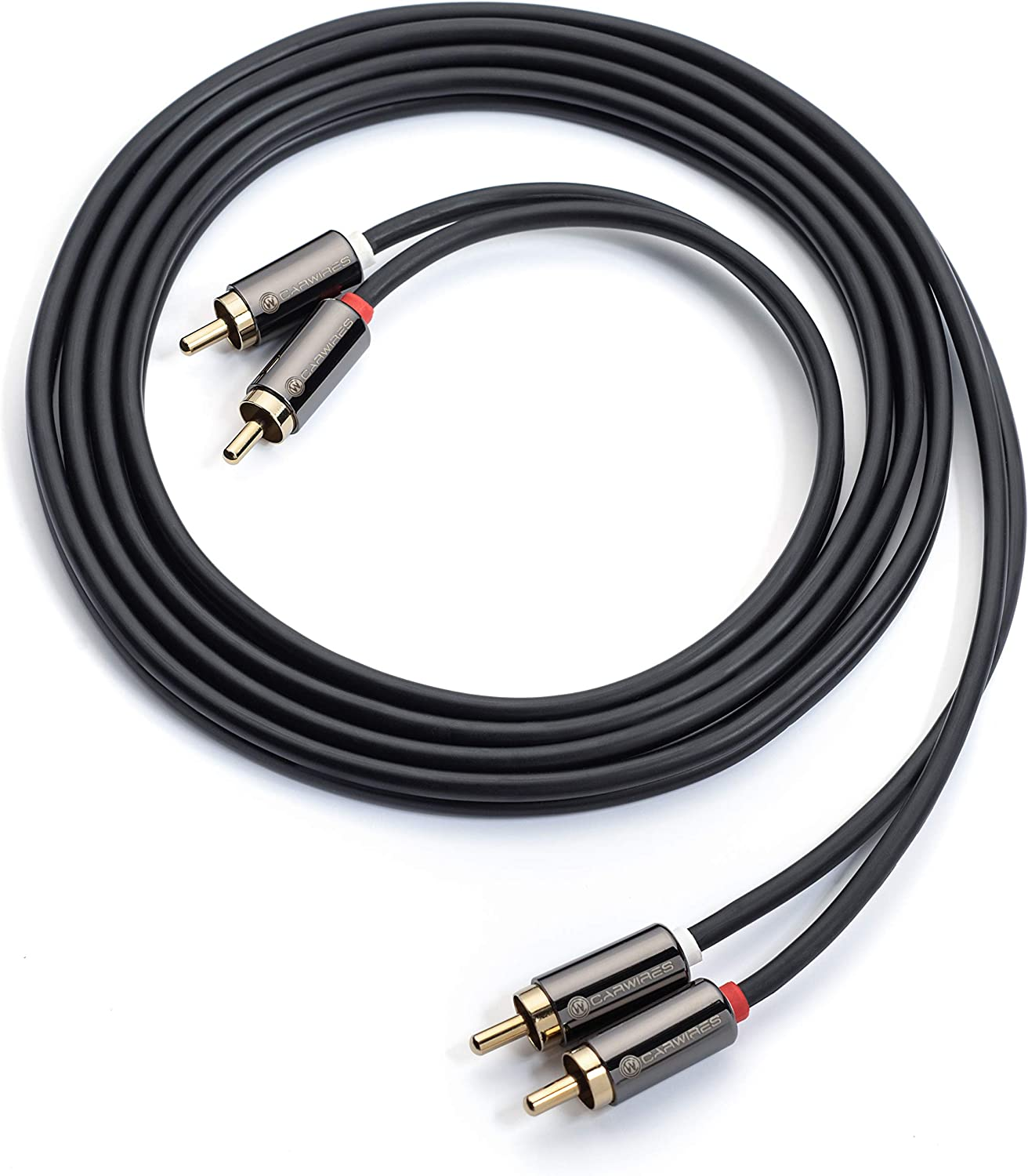 Carwires MJ206A 6 ft. Premium RCA Audio Cable