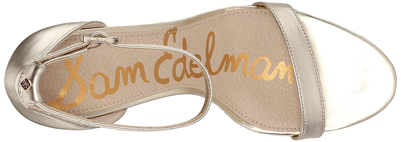 Sam Edelman B015GIU9FG Women's Patti Heeled Sandal B015GIU9FG Edelman 9 B(M) US|Jute Metallic Leather 4a6d0a