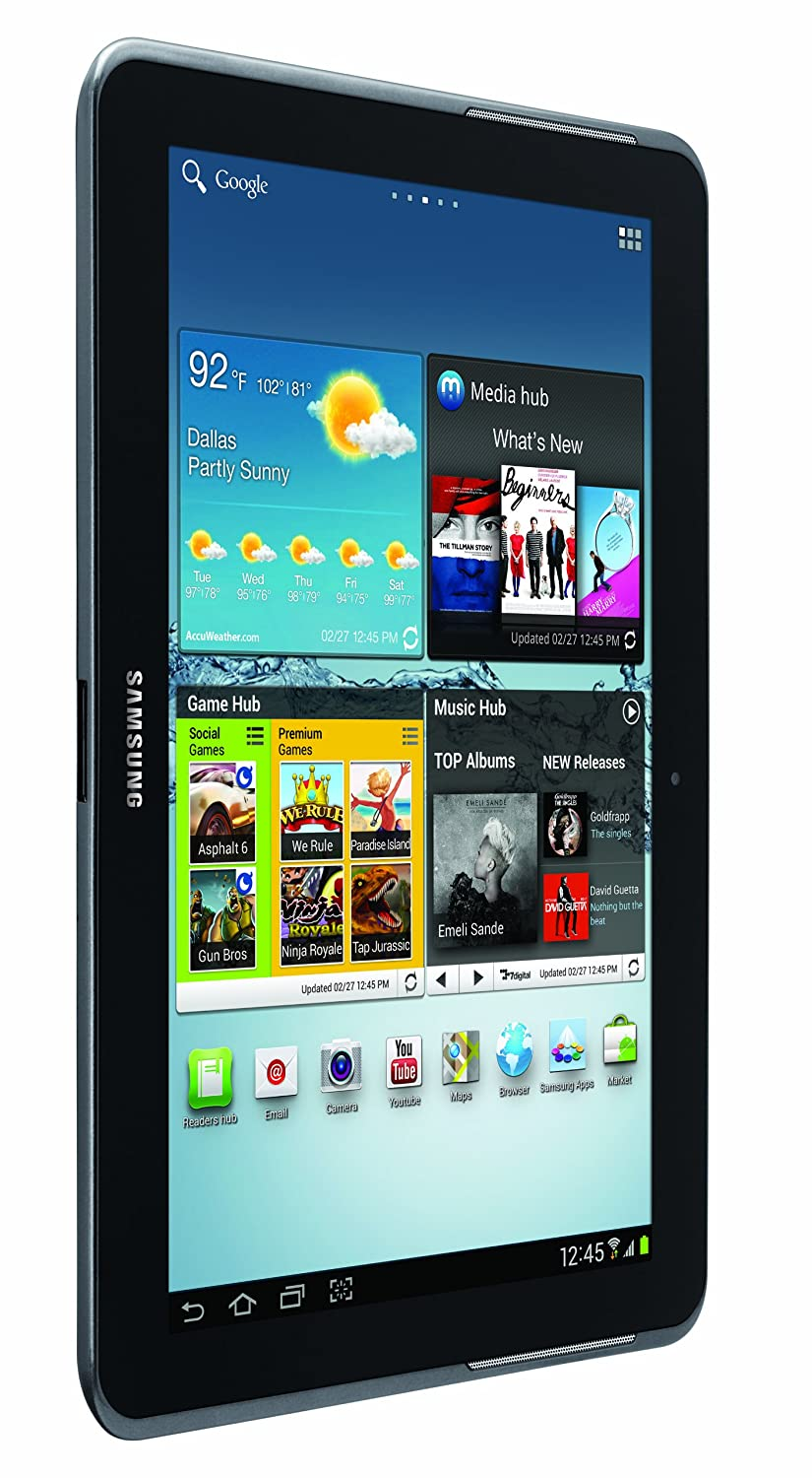Samsung Galaxy Tab 2 (10 1-Inch, Wi-Fi) 2012 Model