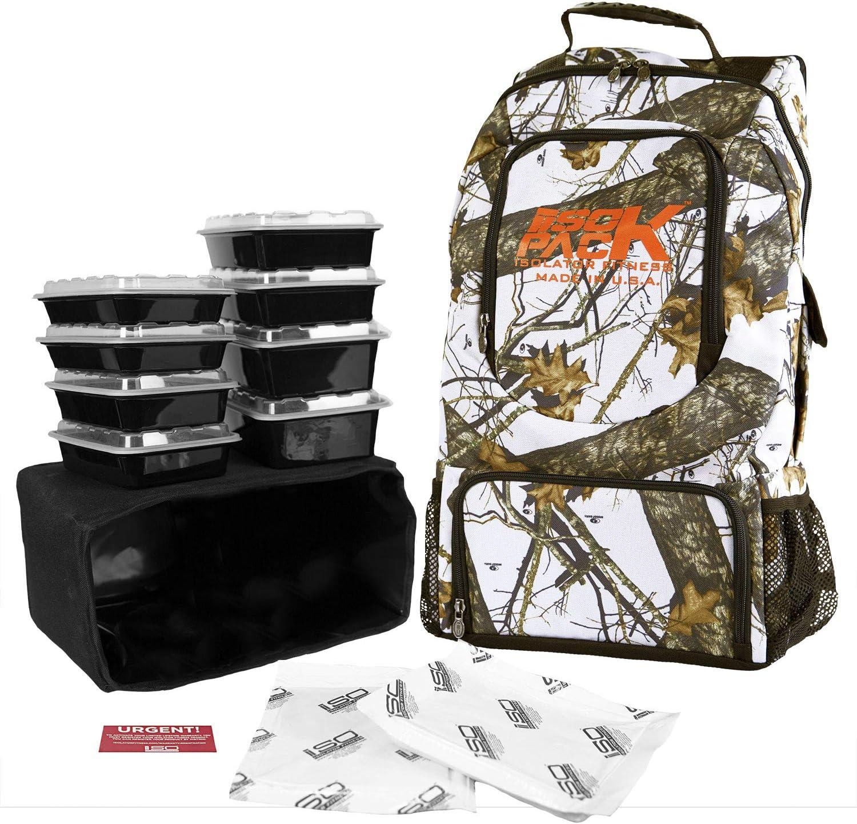 isopack/Mossy Oak Edition/bolsa de almuerzo térmica/aislador Fitness: Amazon.es: Hogar