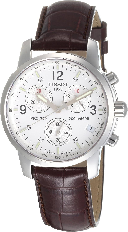 Tissot T17151632 - Reloj de Caballero de Cuarzo, Correa de Piel Color marrón