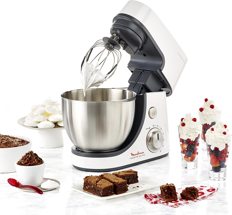 Rosso Rubino Moulinex QA502G Masterchef Gourmet Robot da Cucina Multifunzione