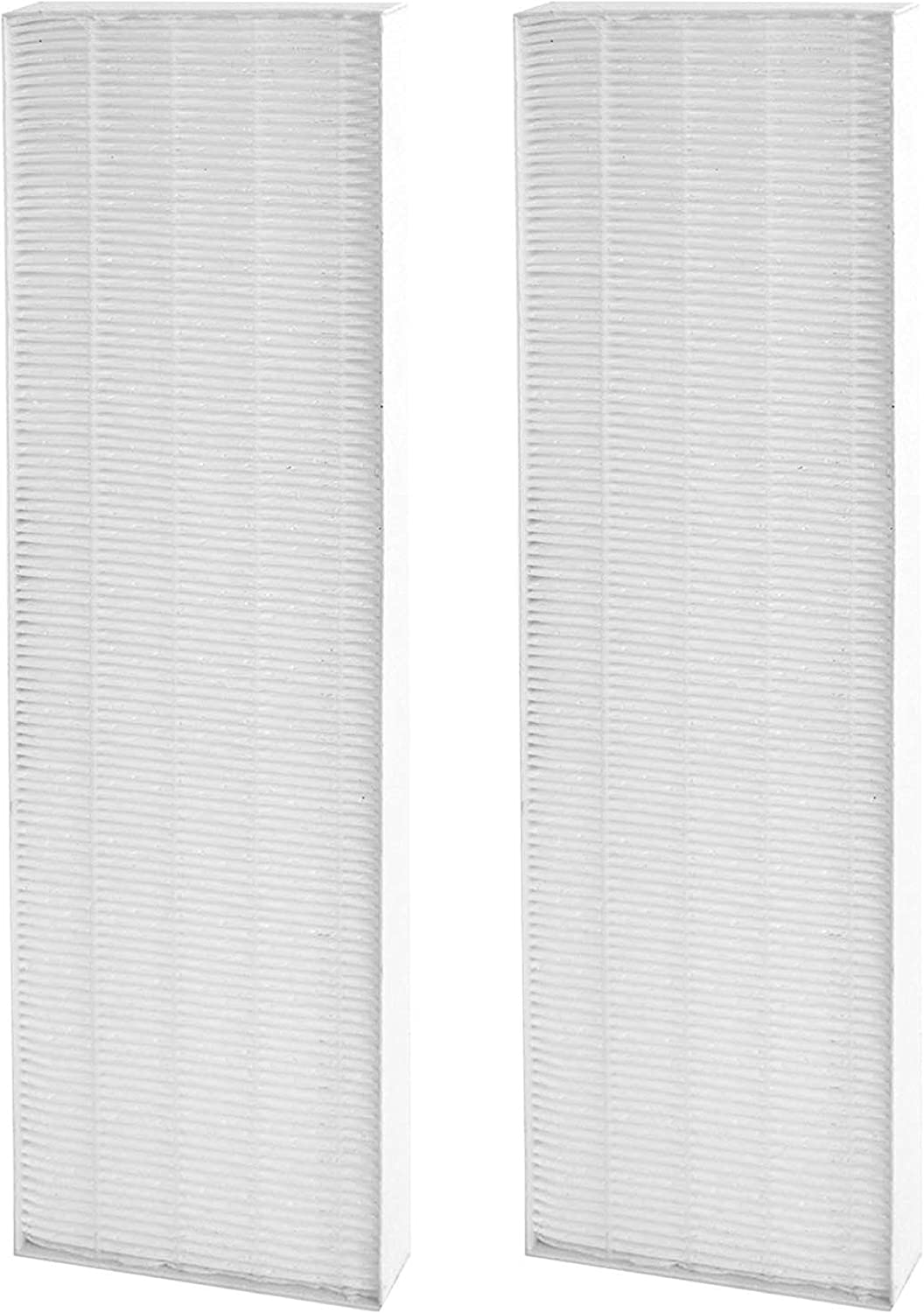 Nispira HEPA Filter Replacement Compatible with Fellowes AeraMax 90/100/DX5 DB5 Air Purifier. Compared to Part 40101701 9287001 9324001, 2 Filters