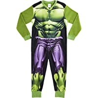 Marvel Onesie para Niños | Mono Infantil con Personajes Hulk Y Avengers Onesie Pijama para Niños | Mono Pijama Todo En…