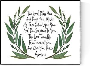 The Blessing Wreath | Elevation Worship | Kari Jobe | Christian Music Art Print (16x20)