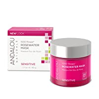 Andalou Naturals 1000 Roses Rosewater Mask, 1.7 Ounce