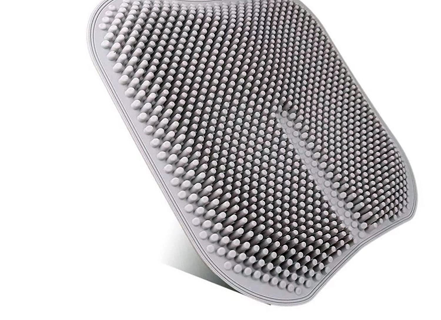 T&T Gel Sheet Cushion pad Nonslip to Prevent Pain on The Back and The Buttocks, Breathable and Also Hard to Sweat as hinya. (Grey) tetsumeidou