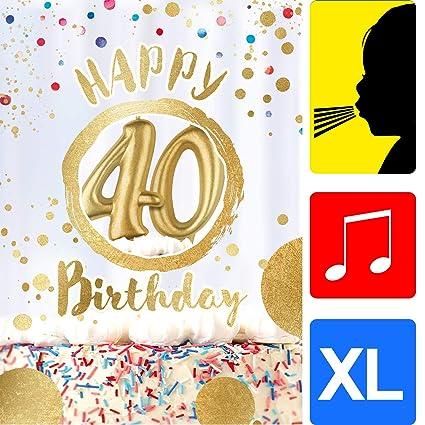 bentino XXL tarjeta de felicitación A4 con sonido