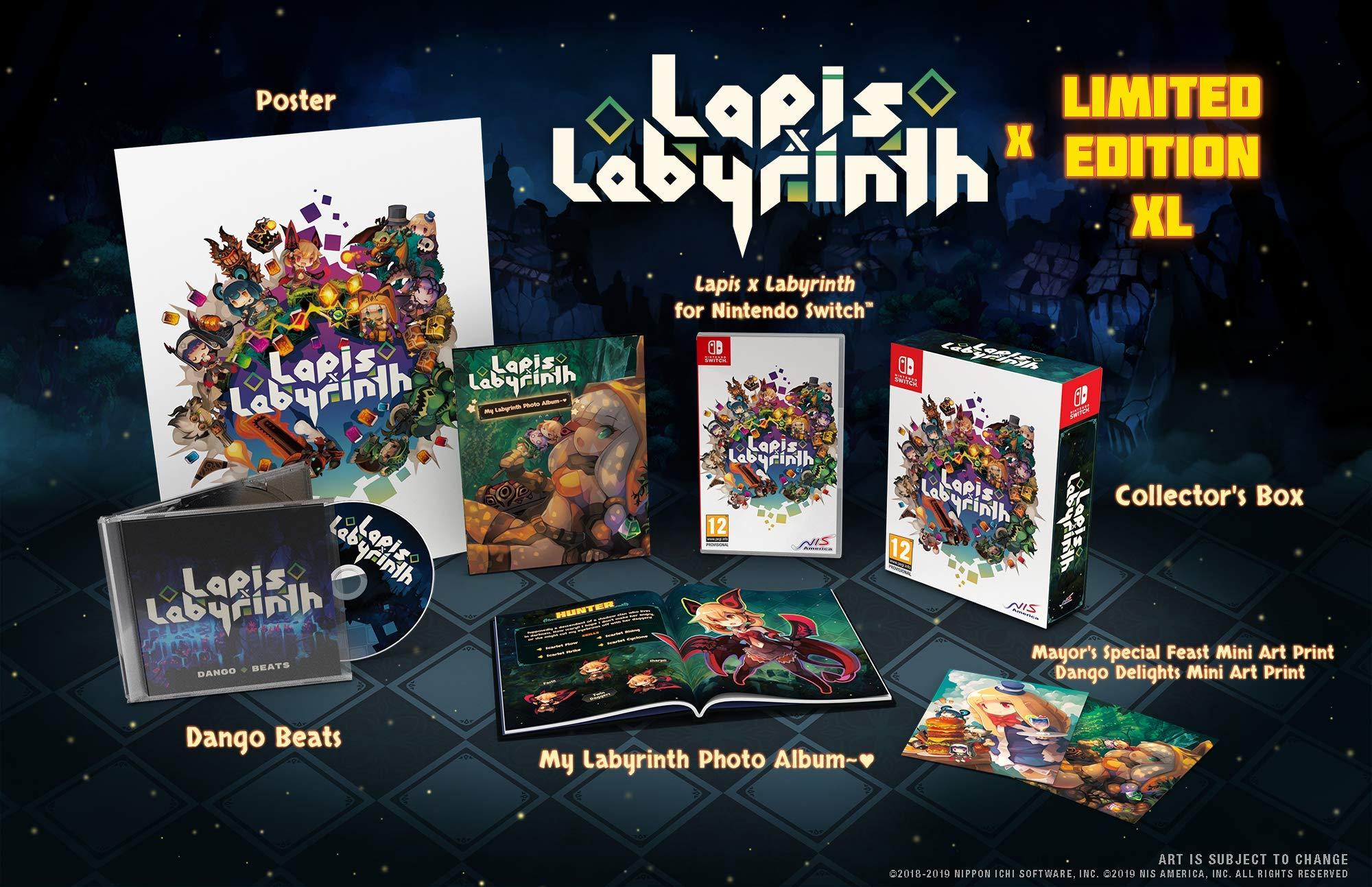 Amazon.com: Lapis x Labyrinth (Nintendo Switch): Video Games