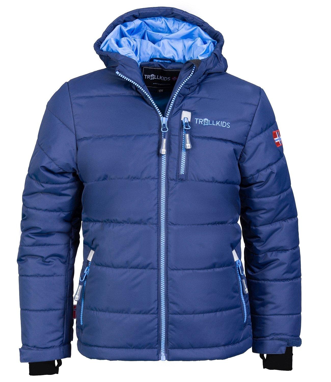 Bleu - Marinebleu   Mittelbleu 9-10 ans TrollEnfants Veste de ski enfant Hemsedal